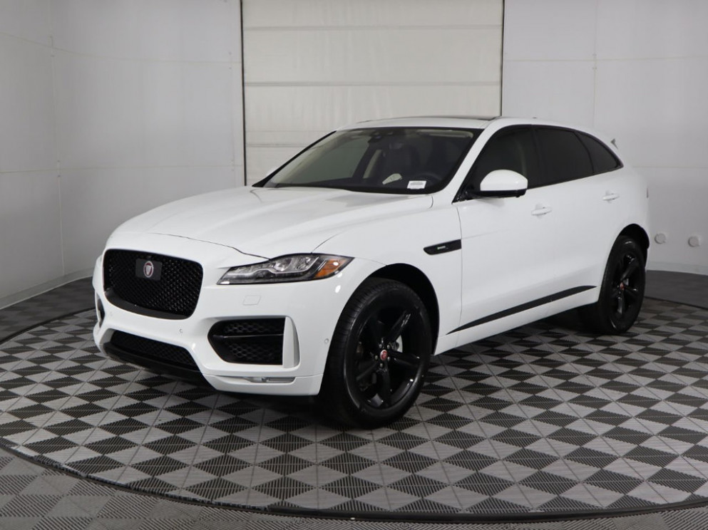 New 12 Jaguar F-PACE With Navigation