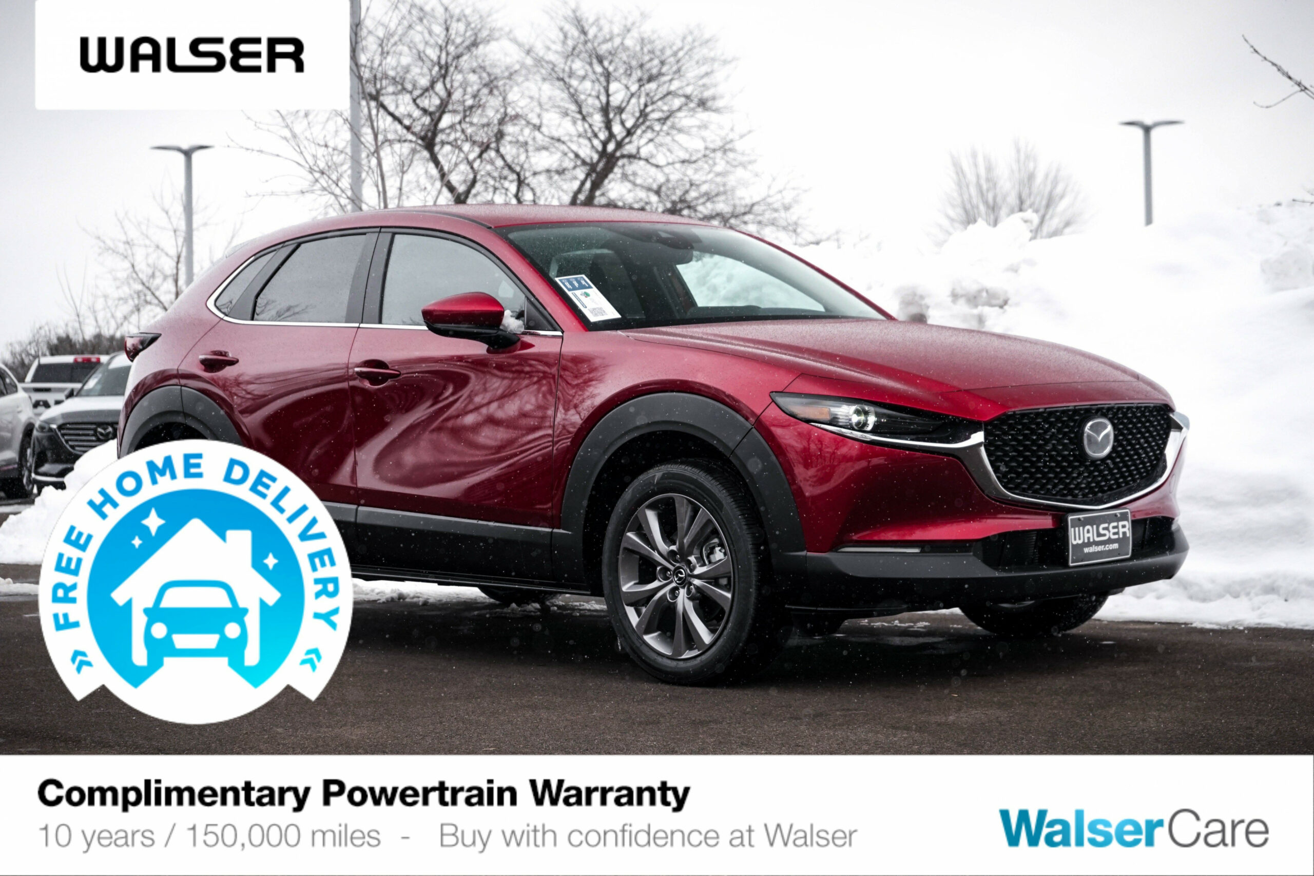 New 8 Mazda CX-8 Select Package