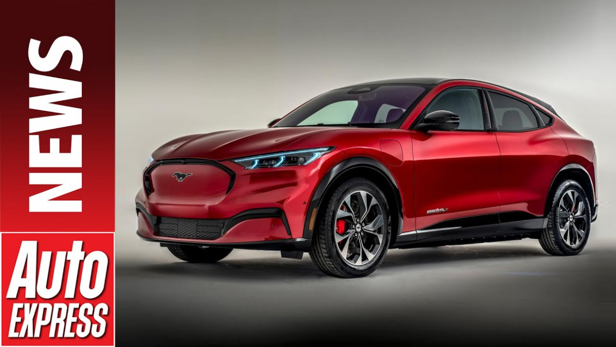 New 9 Ford Mustang Mach-E - meet Ford's Jaguar I-Pace rival