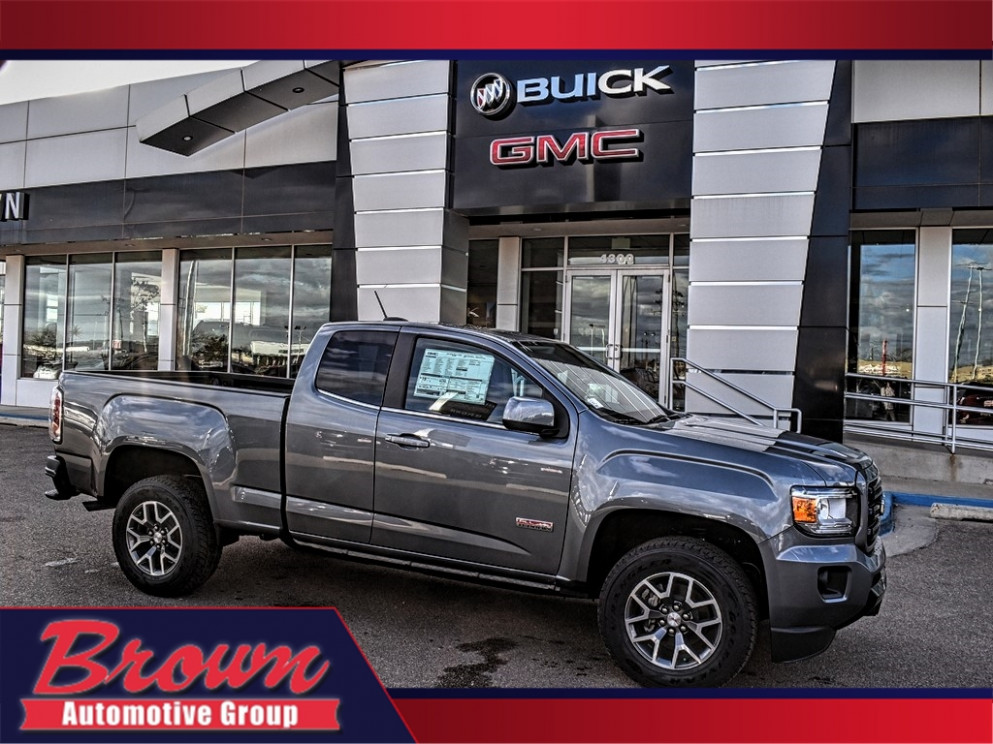 New 9 GMC Canyon 9WD EXT CAB 9 ALL TERRAIN W/CLOTH FOUR WHEEL DRIVE  truck