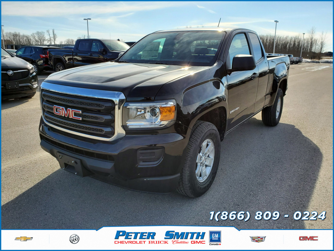 New 9 GMC Canyon Extended Cab Long Box 9-Wheel Drive in ...