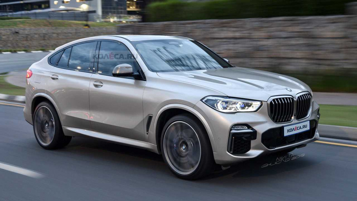 New BMW X11 Loses All Camo In Speculative Render - 2020 bmw jeep