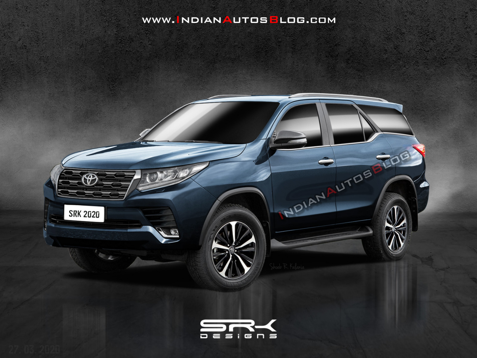 New Toyota Fortuner (facelift) - IAB Rendering - toyota fortuner 2020