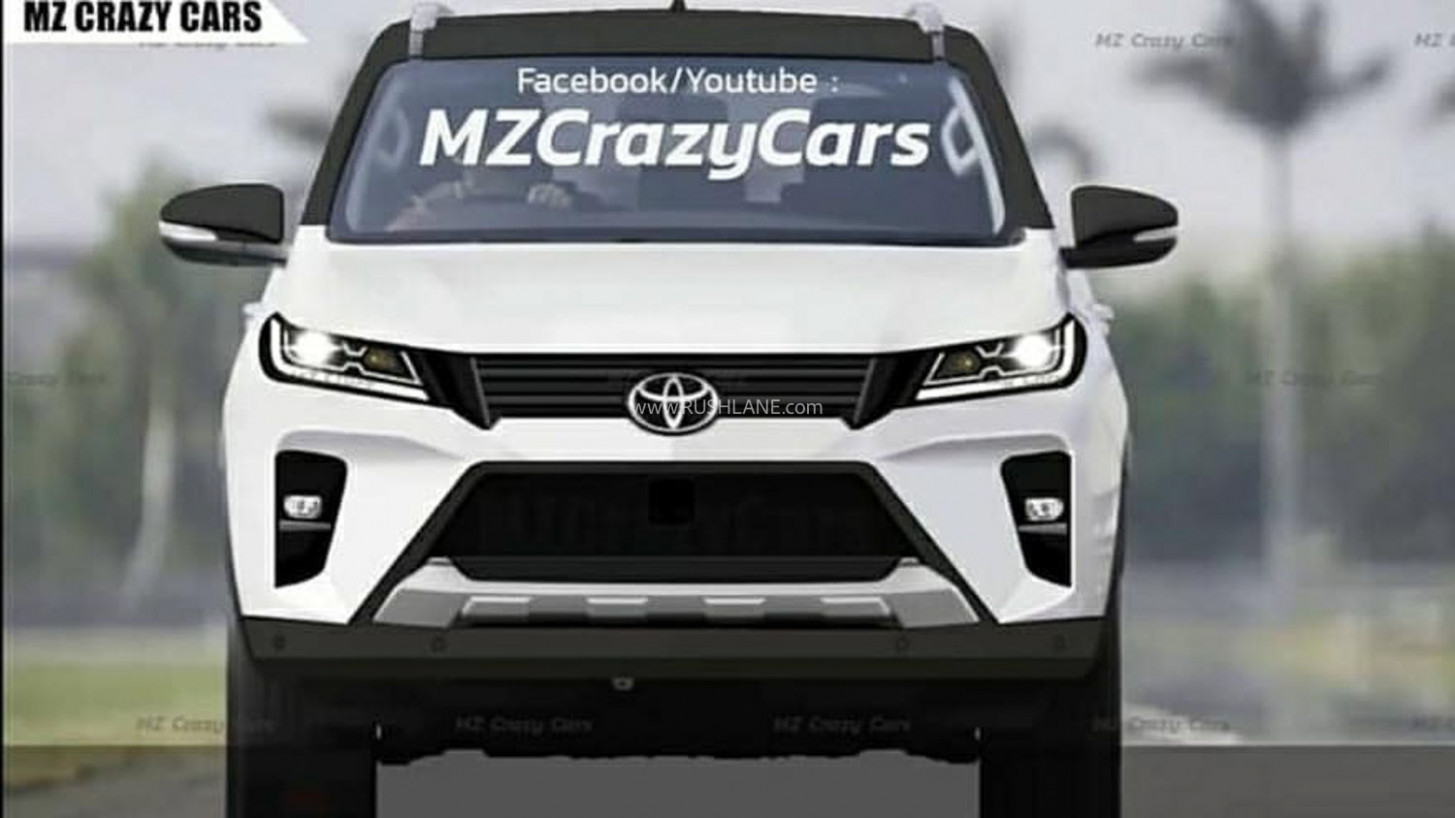 New Toyota Fortuner Spied Undisguised - LED Lights, Changes Detailed - toyota new fortuner 2020