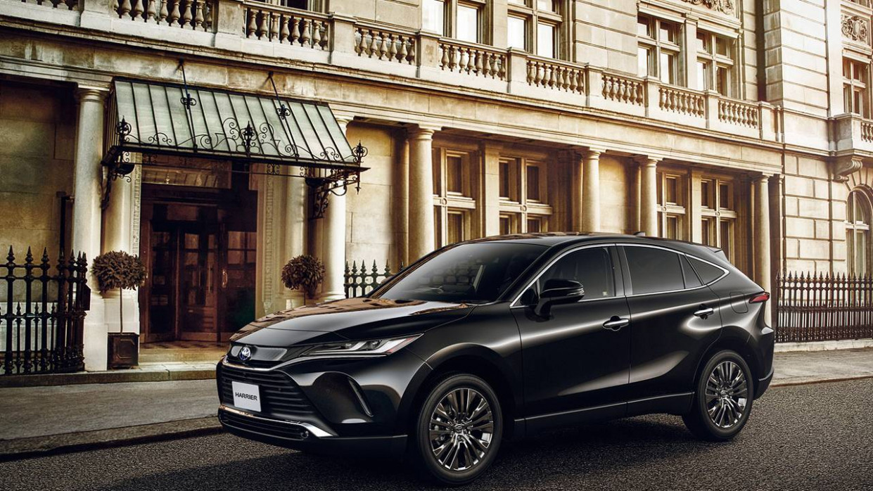 New Toyota Harrier lands in Japan in June - SlashGear