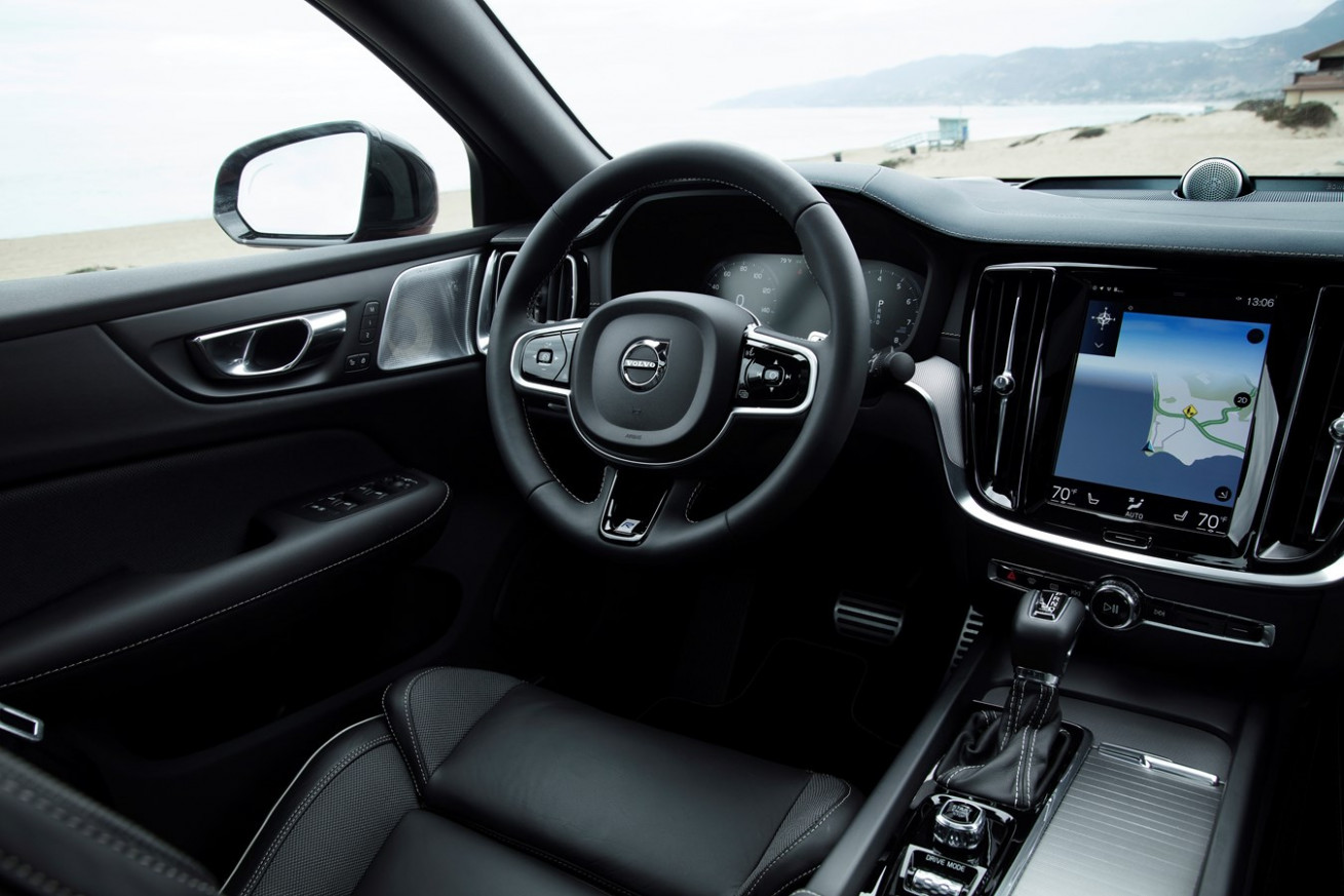 New Volvo S11 R-Design interior - Volvo Car Austria Pressezentrum