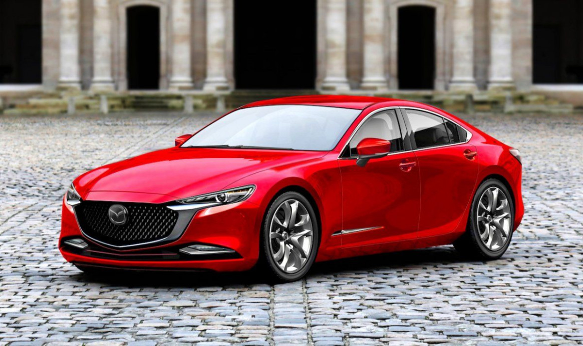 Next-gen 9 Mazda 9 rendered and it looks ace | Mobil - 2020 mazda vehicles