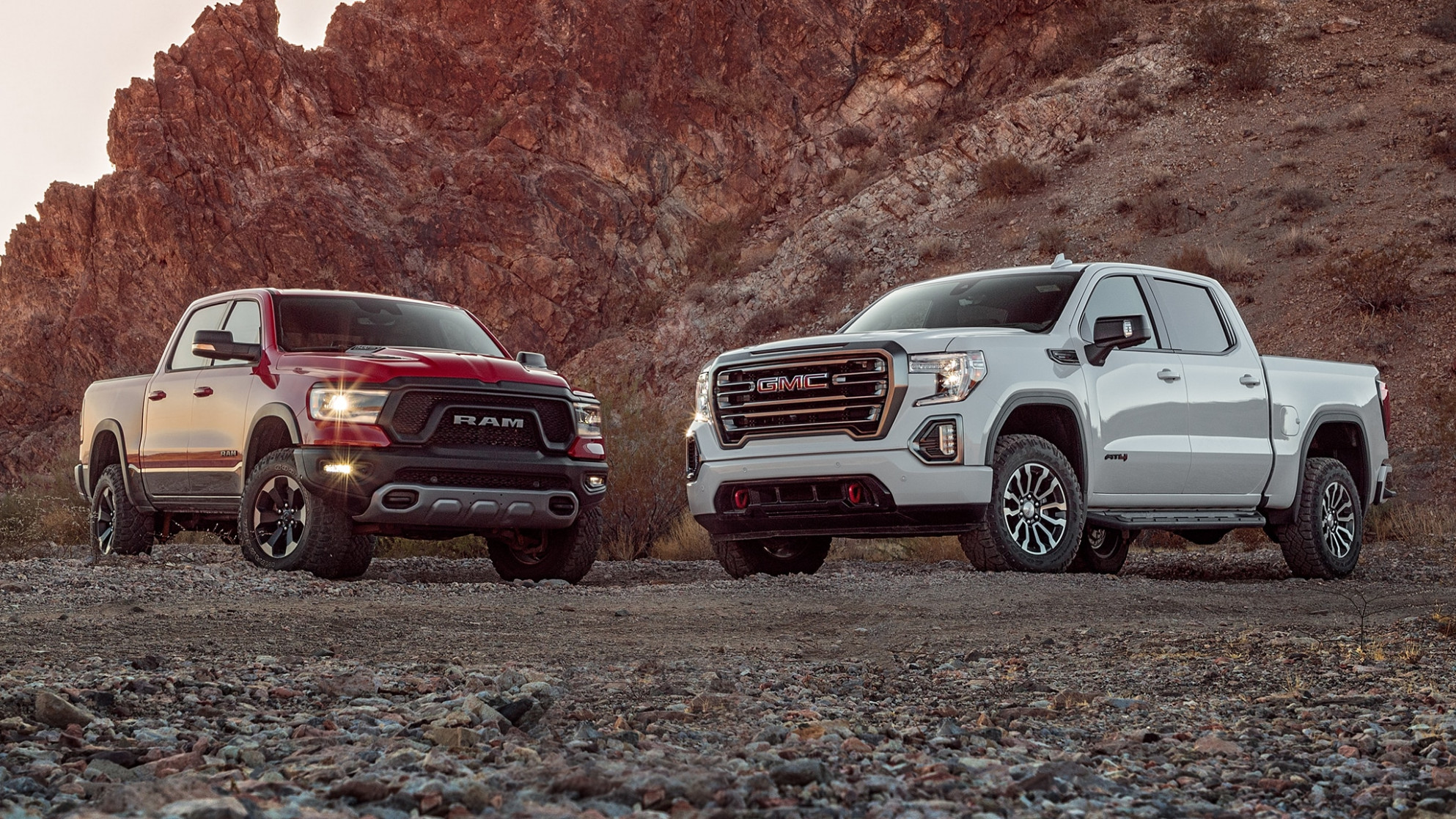 Off-Road Diesel Truck Showdown: GMC Sierra 11 AT11 vs. Ram 11 Rebel