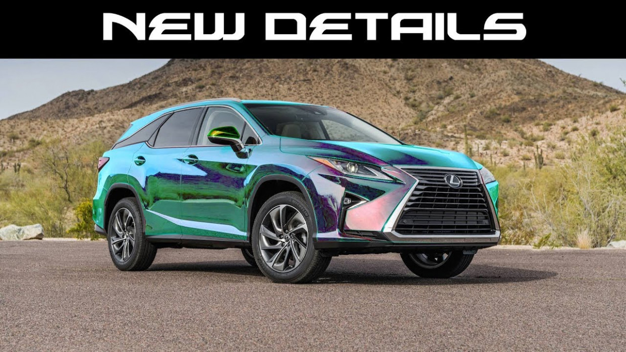 OFFICIAL 10 RX 10 Details, Paint colors, Apple Carplay + Android Auto,  USBs, and Much More! - 2020 lexus colors