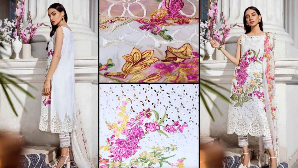 ? Pakistani Lawn Collection 12| Charizma ED12 Unboxing Sara Clothes |  Hina Altaf - infinity eid collection 2020