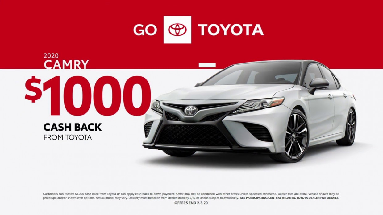 Priority Toyota Springfield - January 10 Incentives Camry - YouTube