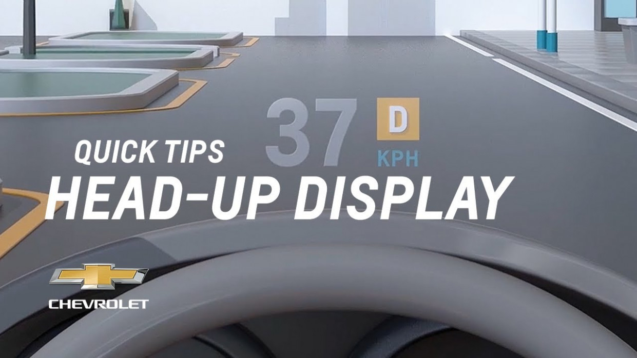 Quick Tips: What Does The Head-Up Display Show Me? | Chevrolet - 2020 gmc sierra heads up display