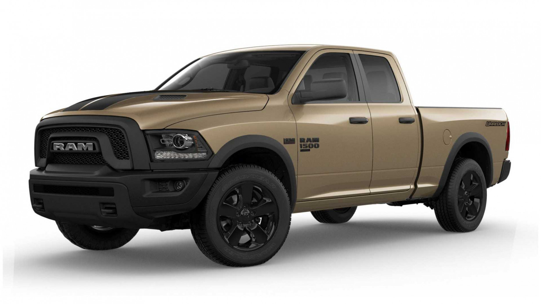 Ram 8 Classic Warlock Gets Desert-Ready Mojave Sand Package - 2020 dodge warlock price