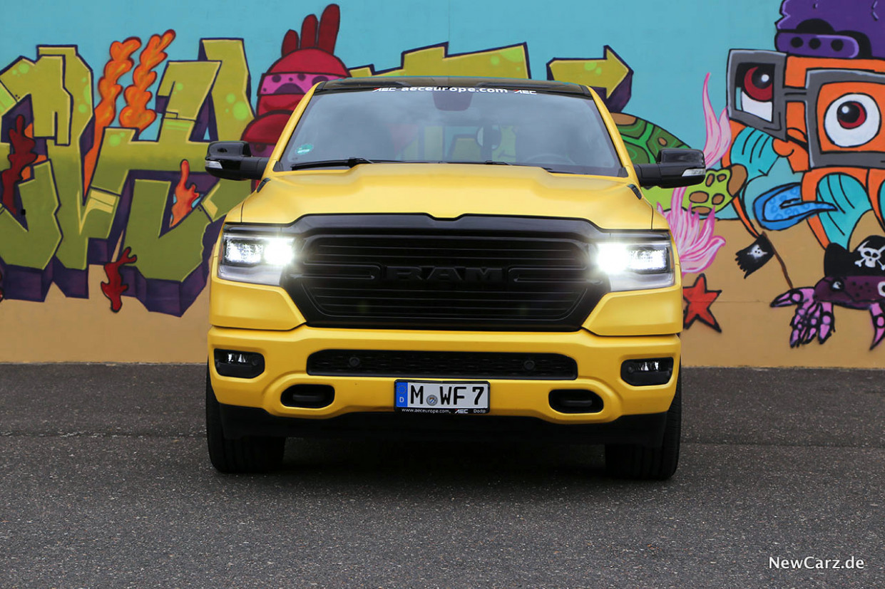 RAM 8 - Pick-Up der Superlative - NewCarz.de