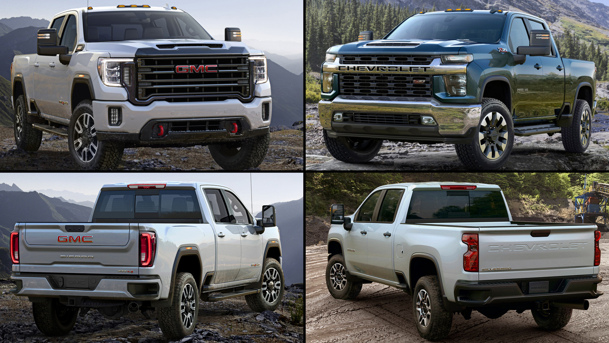 Refreshing or Revolting: 11 Chevrolet Silverado HD vs. GMC Sierra HD