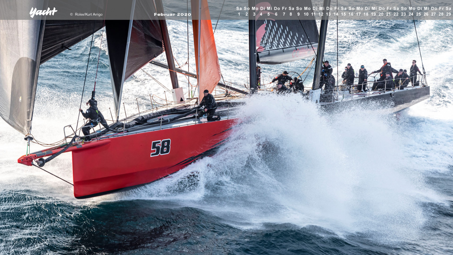 Segel-Desktopmotive - volvo yacht race 2020