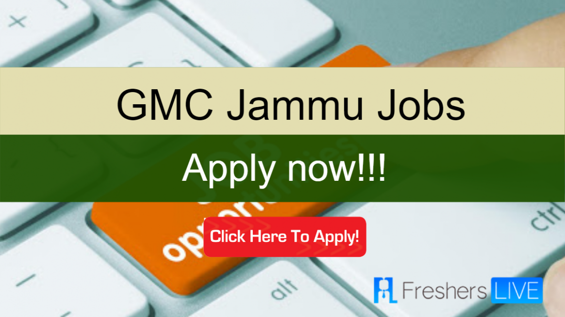 Senior Staff Nurse/ Senior Grade Nurse Jobs in GMC Jammu - Apply now - gmc jammu result 2020