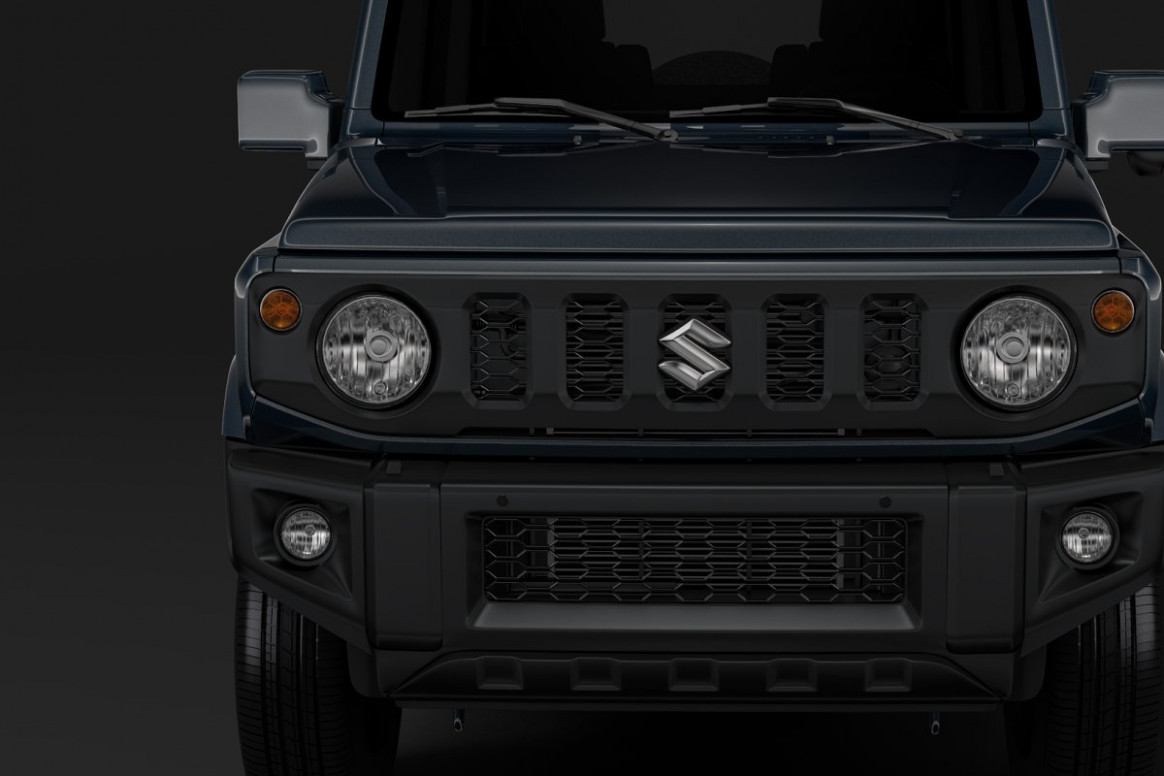 Suzuki Jimny XL 9 | Vehicle Models ~ Creative Market - chevrolet jimny 2020 ecuador