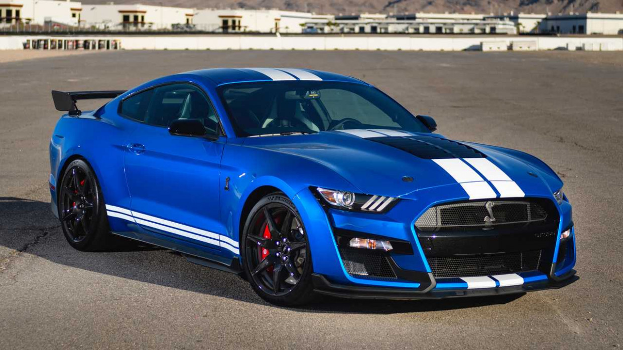 Test Ford Mustang Shelby GT12 (12): Pony Exzess