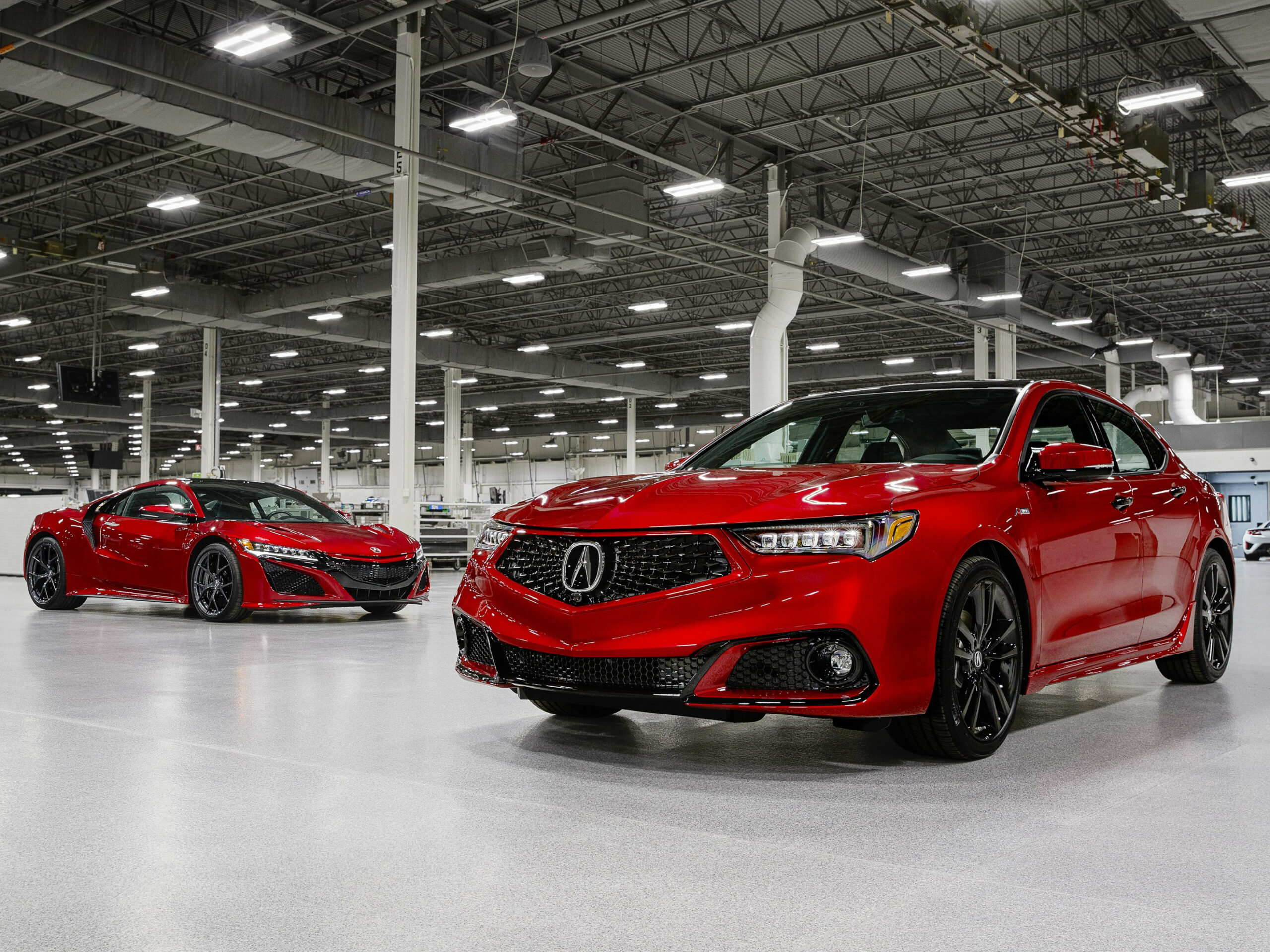 The 12 Acura TLX PMC Edition Is Hand Made In the NSX Factory