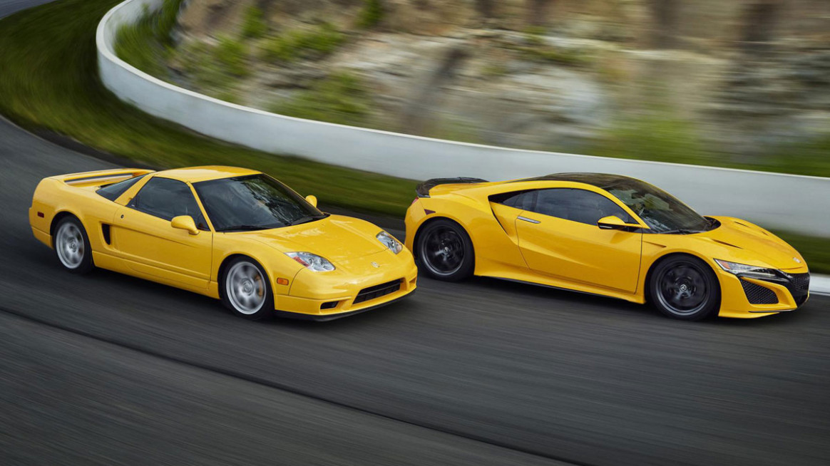 The 12 Honda NSX now comes in a lovely retro shade of yellow
