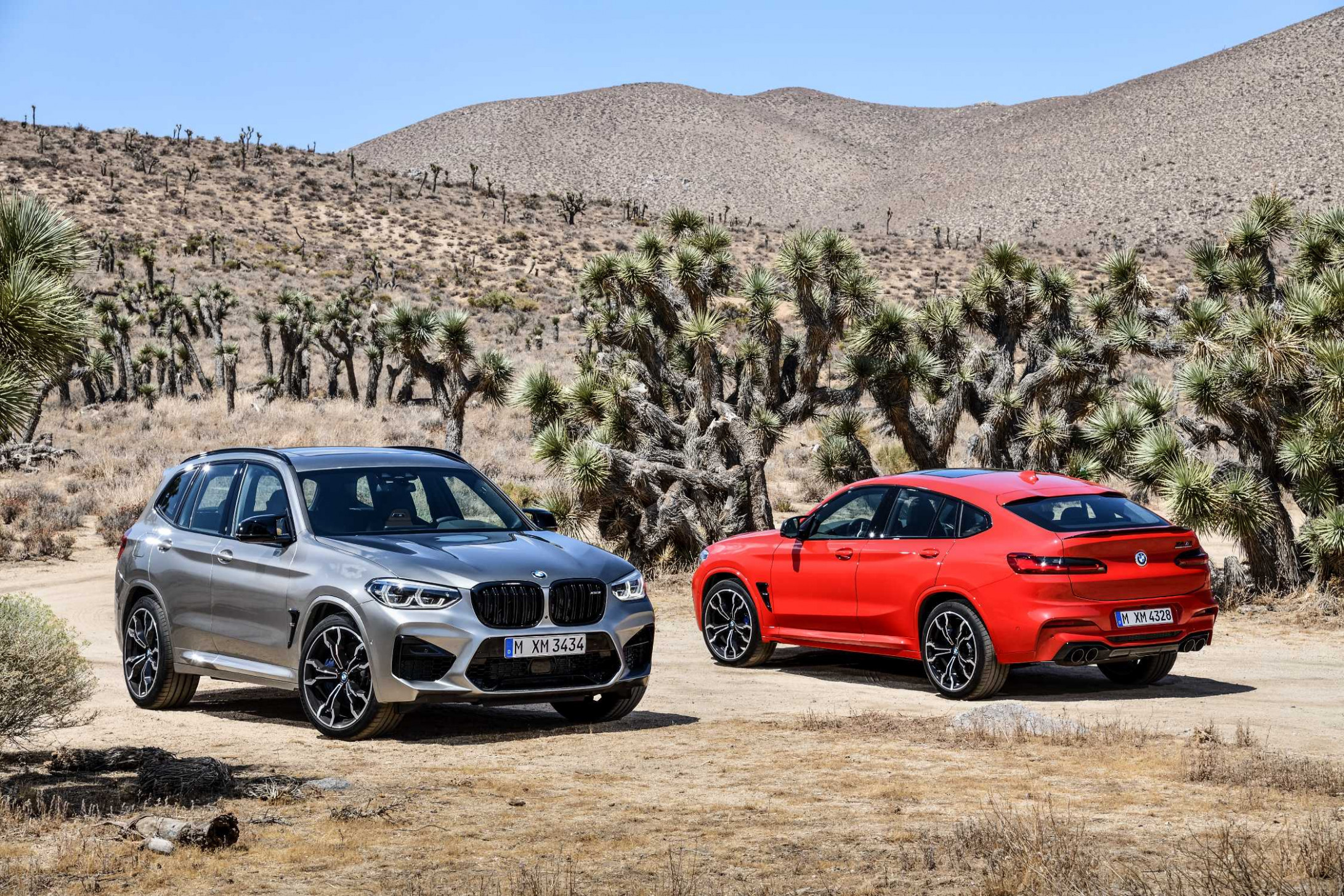 The all-new BMW X10 M and the all-new BMW X10 M