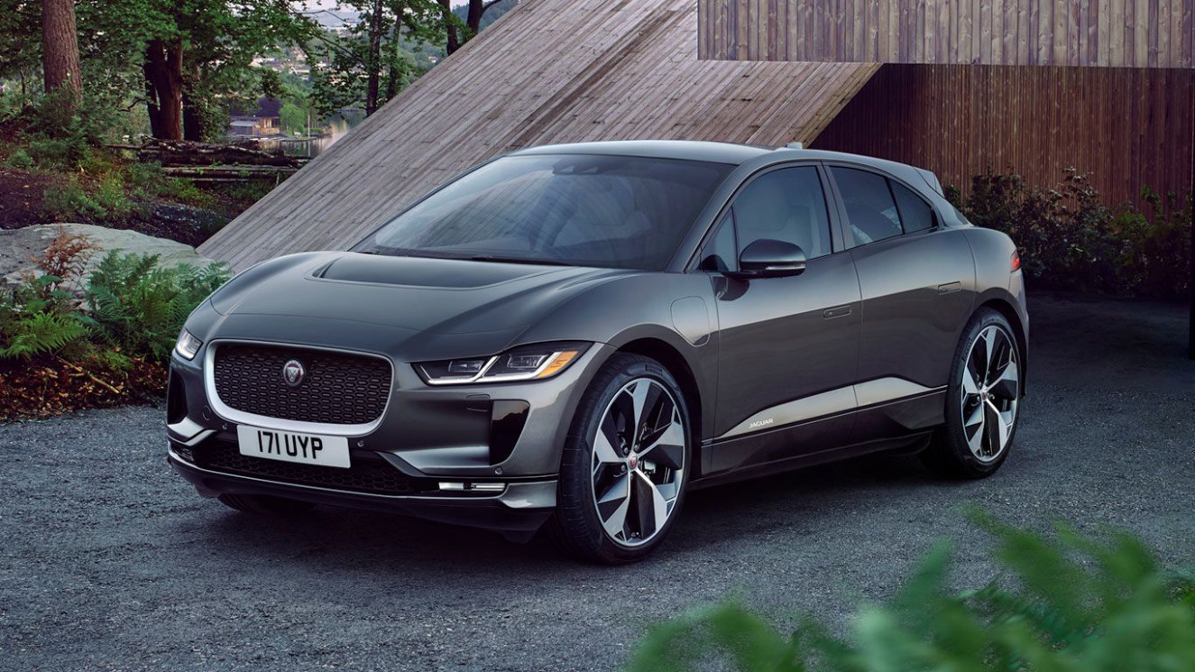 THE JAGUAR I-PACE FIRST EDITION IN CORRIS GREY (With images) | All ...