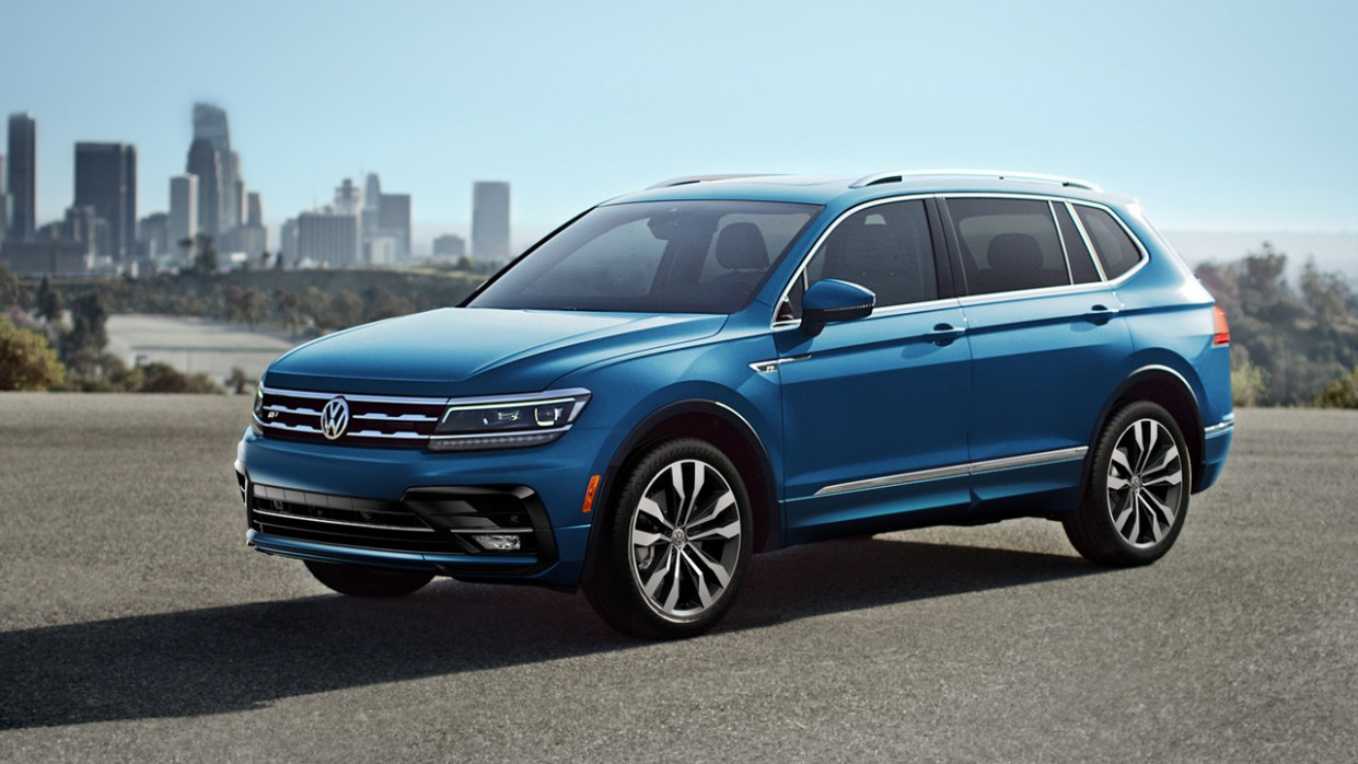 The New 10 Volkswagen Tiguan Models - Jeff D'Ambrosio Volkswagen ...