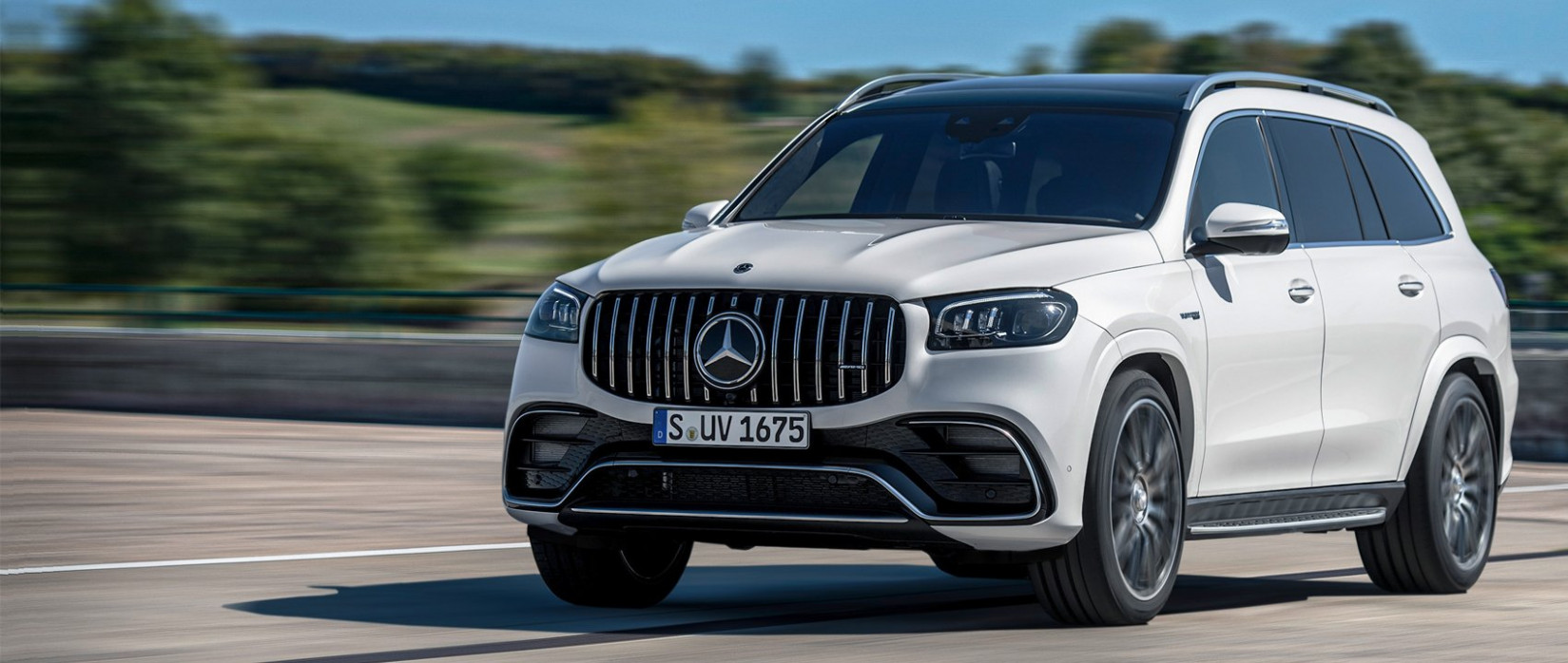 The new Mercedes-AMG GLS 12 12MATIC+