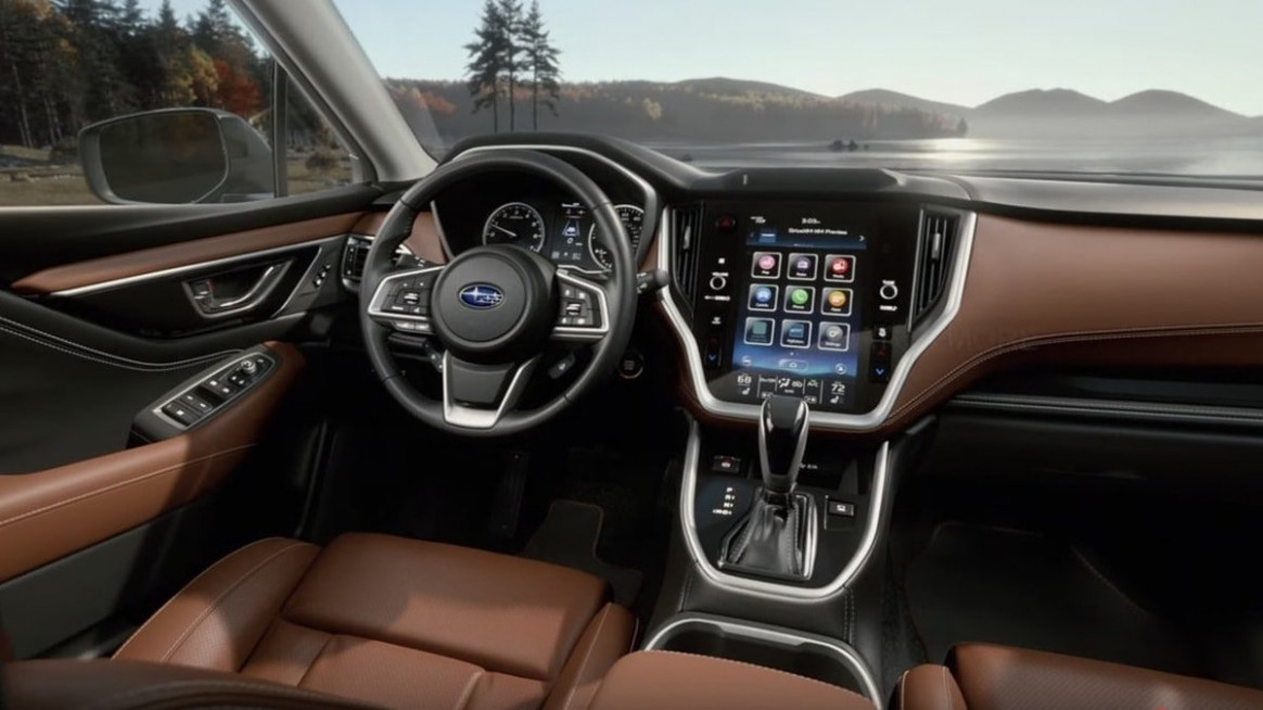 The Newly-Redesigned 12 Subaru Outback Cabin Could Be Its Best ..