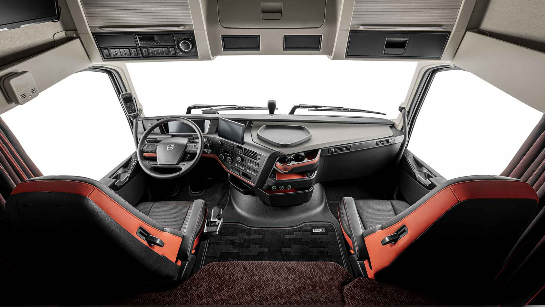 The updated Volvo FH cab interior: built with the driver in mind - volvo truck 2020 interior