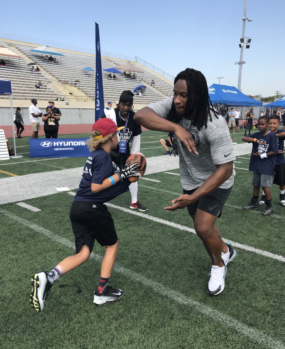 """Todd Gurley II on Twitter: """"Great group of athletes here at the .."""