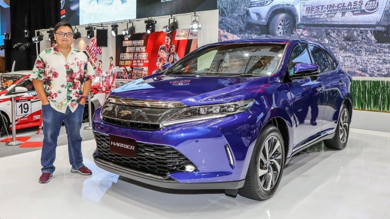 Top 12 Toyota Harrier Gs Spec New Model and Performance | Toyota ...