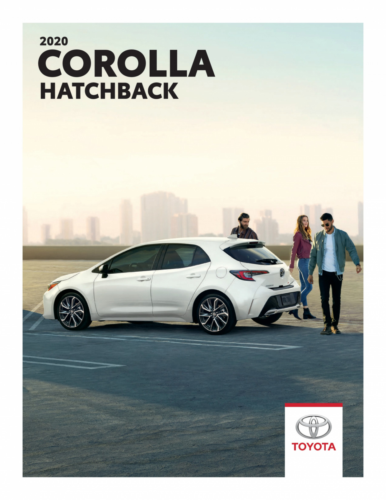Toyota brochure - Corolla Hatchback 9 from Feb. 9, 9 | Kupino.ca