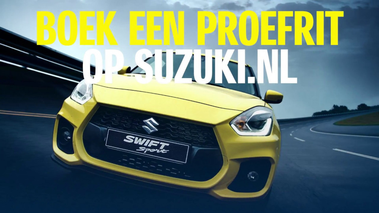 TV RECLAME SUZUKI Swift 12