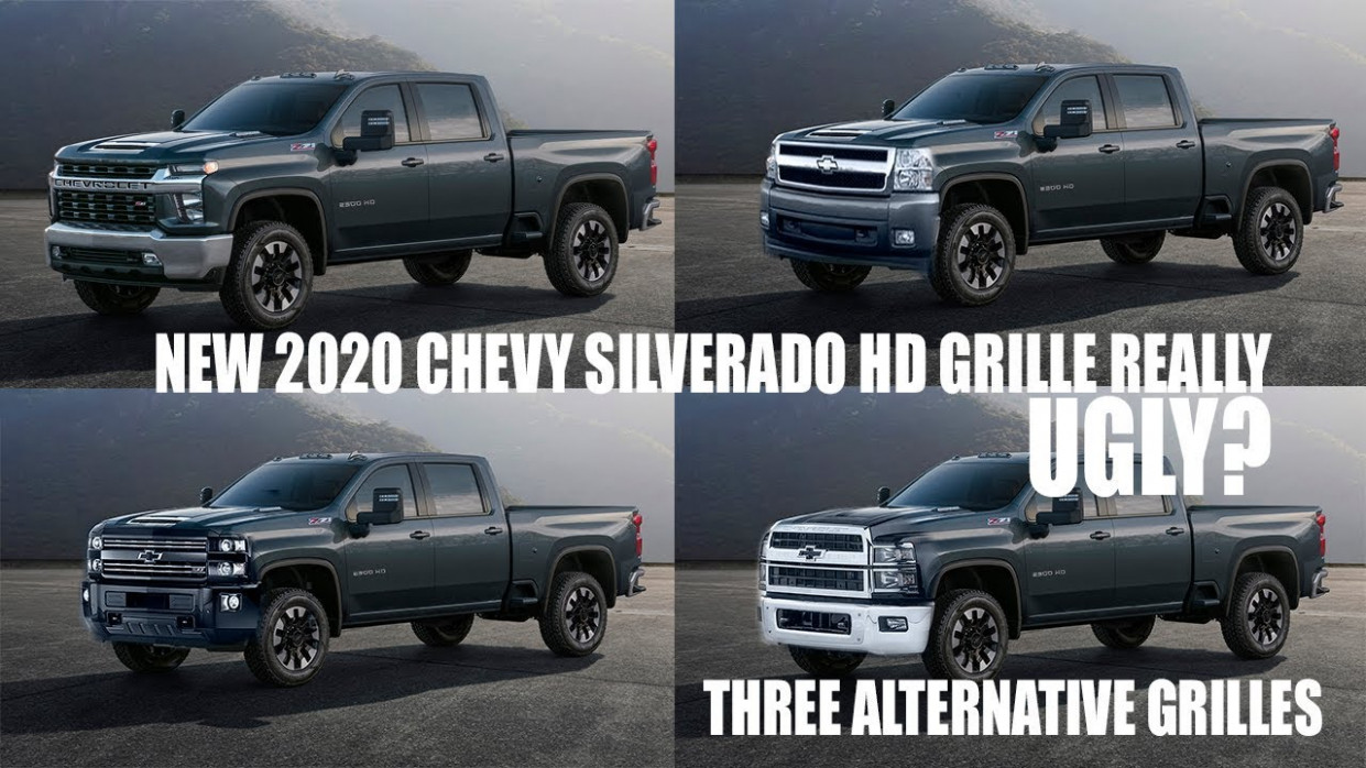Ugly? New 10 Chevy Silverado HD Grille Design Discussion With Alternatives - 2020 chevrolet grill