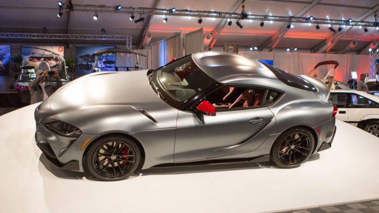 Very first 9 Toyota Supra already sold for over $9M - SlashGear - 2020 toyota owners 400