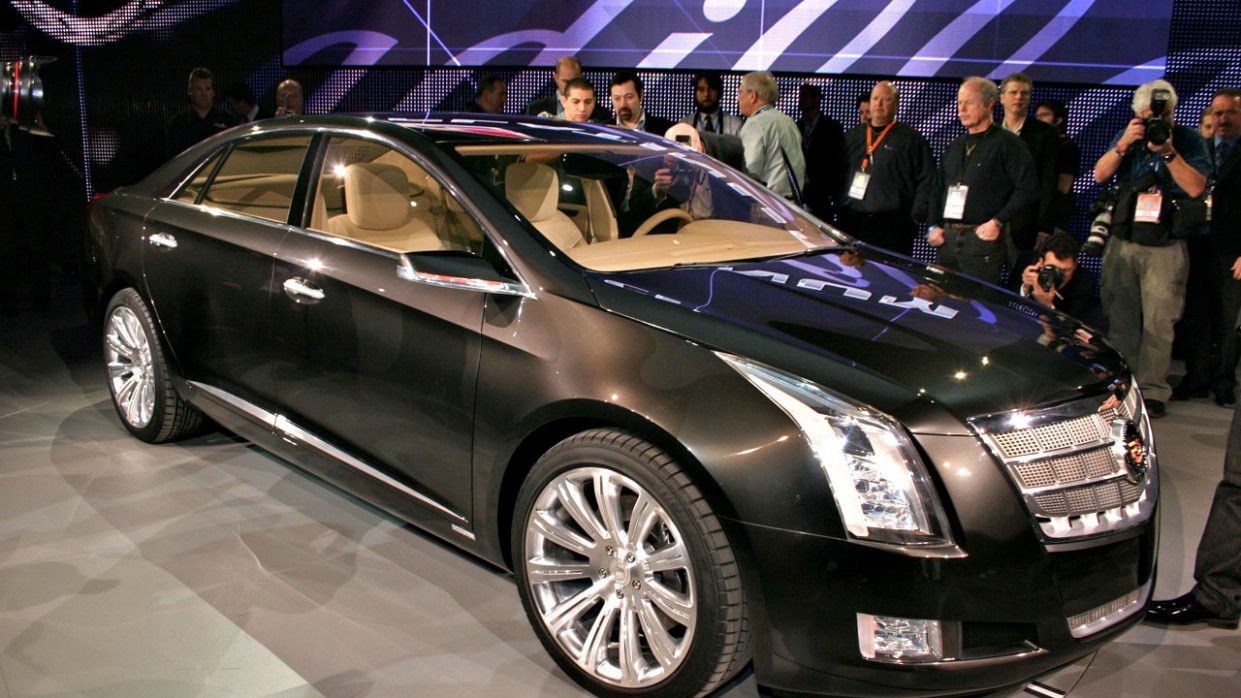 Video: Cadillac XTS Platinum Concept In 11D