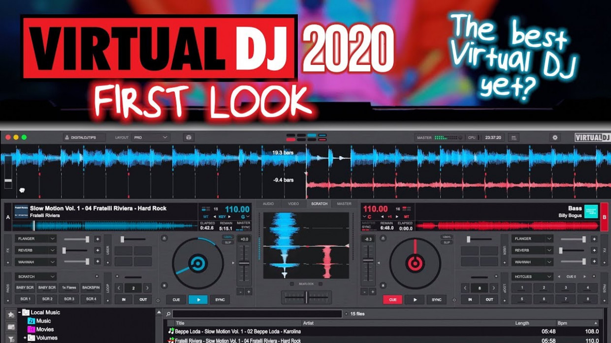 Virtual DJ 12: The Best Virtual DJ Yet? First Look Review! - virtual dj 8 pro infinity 2020