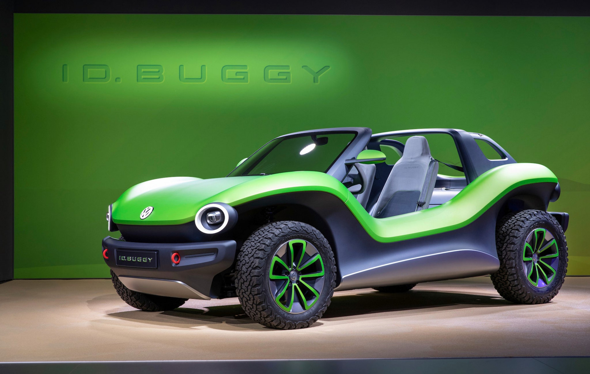 Volkswagen Won't Build This Electric Dune Buggy -- but Someone ...