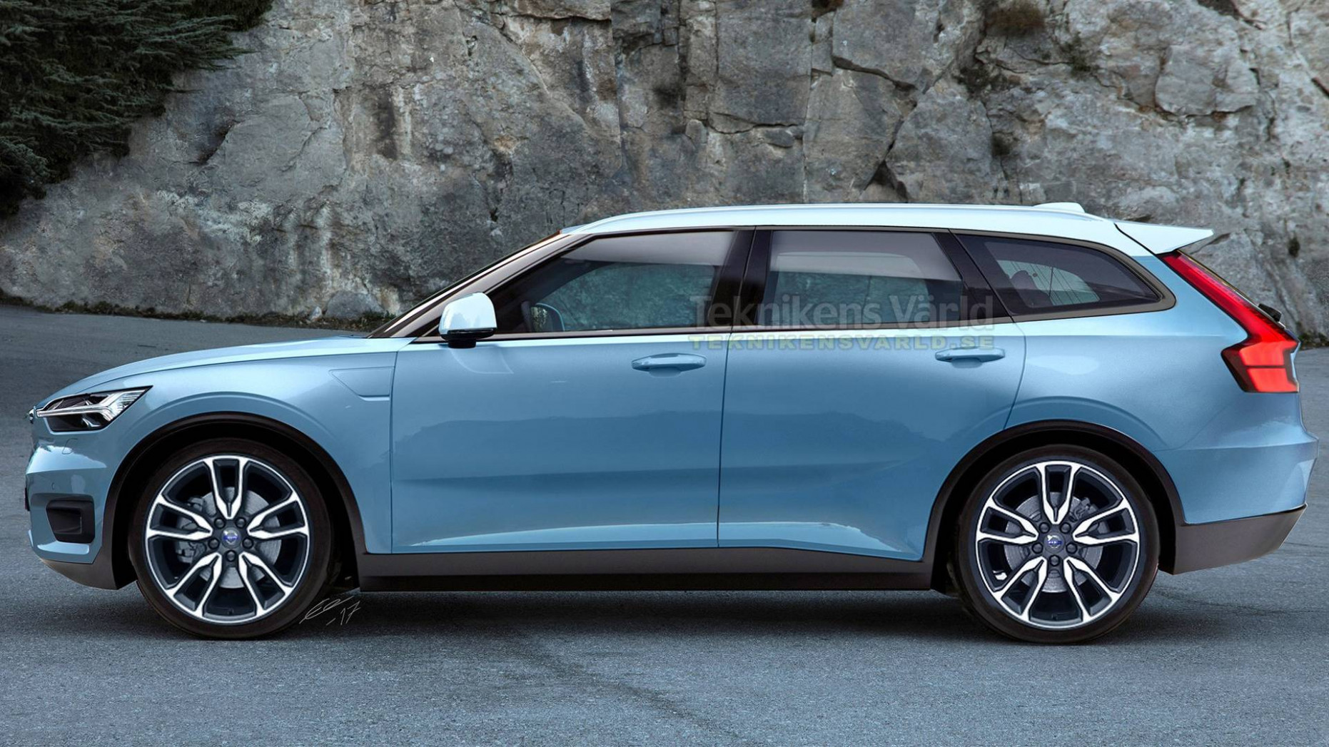 Volvo V9 Render Will Make You Fall In Love With Wagons Instantly - volvo new s40 2020