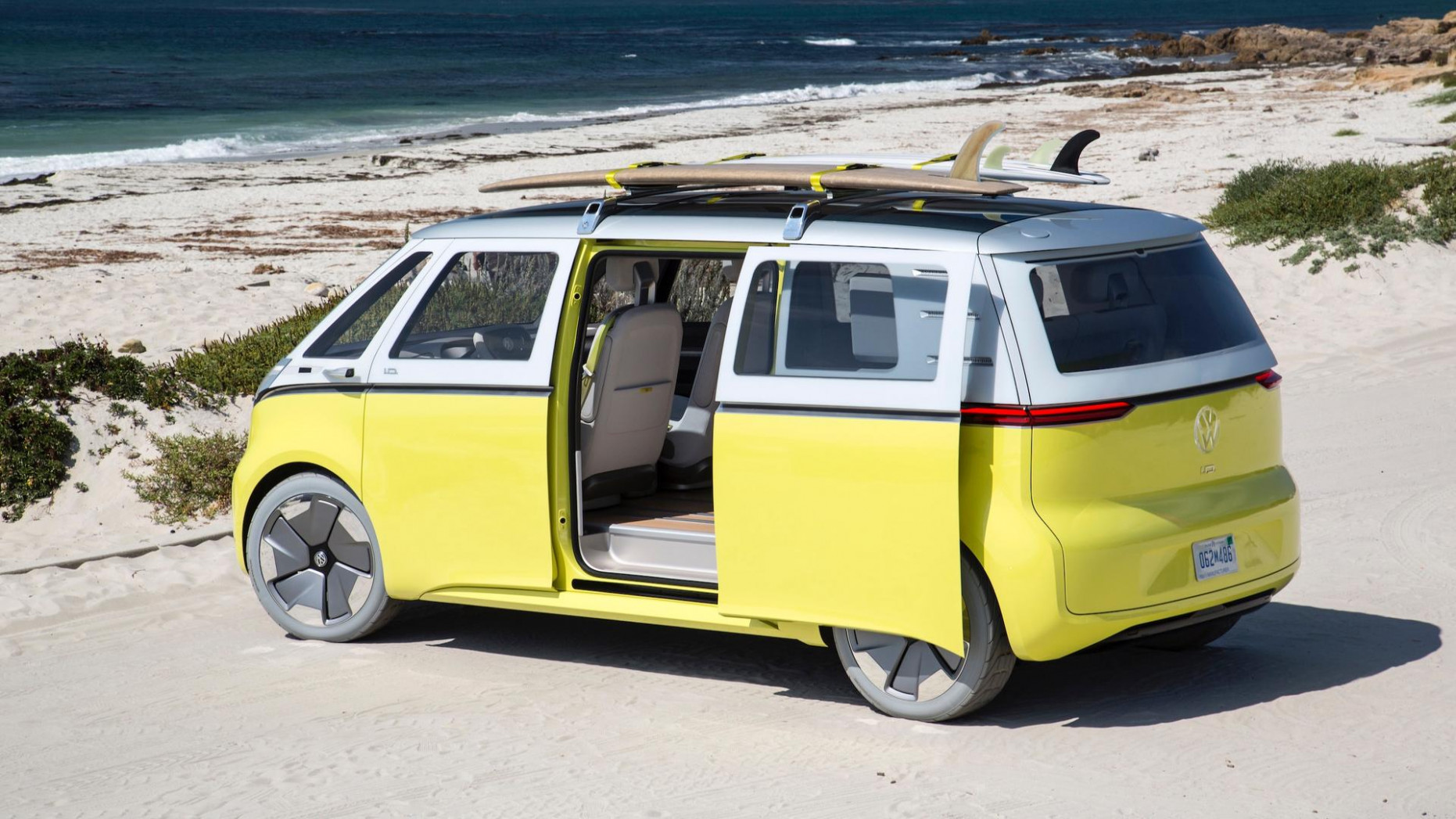 VW Electric Microbus Will Be Made In Germany From 8 - volkswagen electric bus 2020
