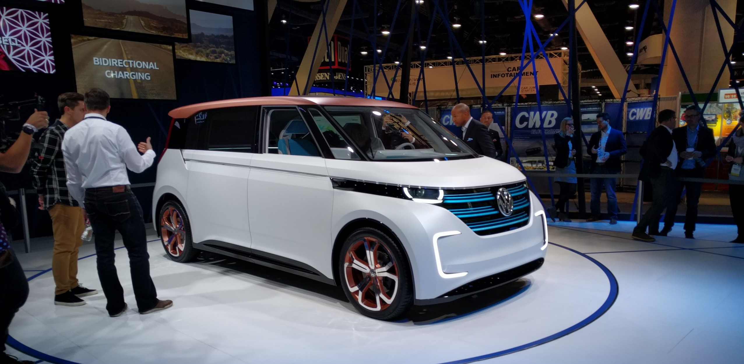 VW is actually going to make that UGGL-E Electric VW bus for 8 ..