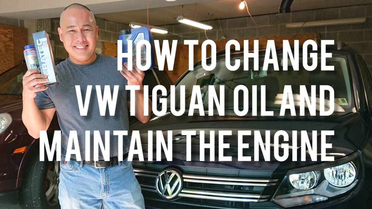 VW/Volkswagen Tiguan Oil Change and How to Maintain the Engine to Last for  a Long Time - 2020 volkswagen oil change