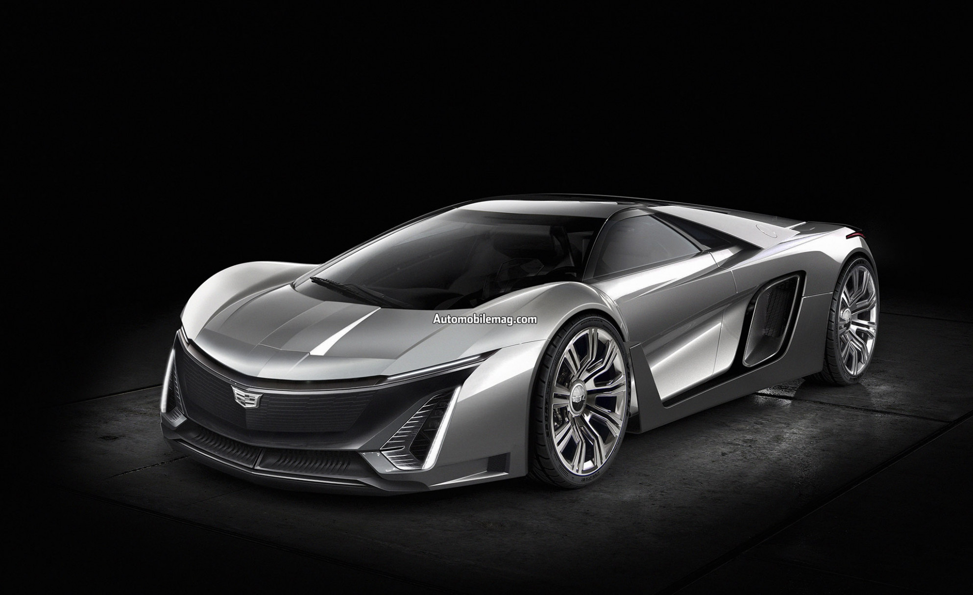 What if Cadillac Built a Halo Supercar Based on the 10 Corvette C10? - 2020 cadillac with corvette engine