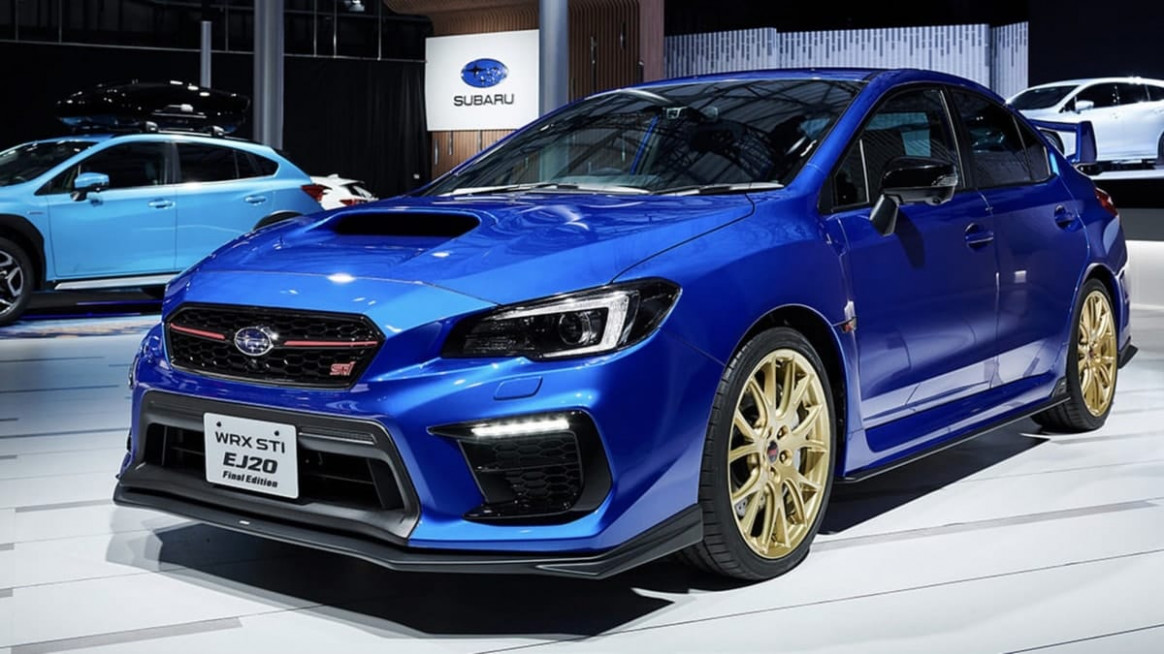 What STI EJ8 Final Edition And New Subaru Levorg Reveal About ..