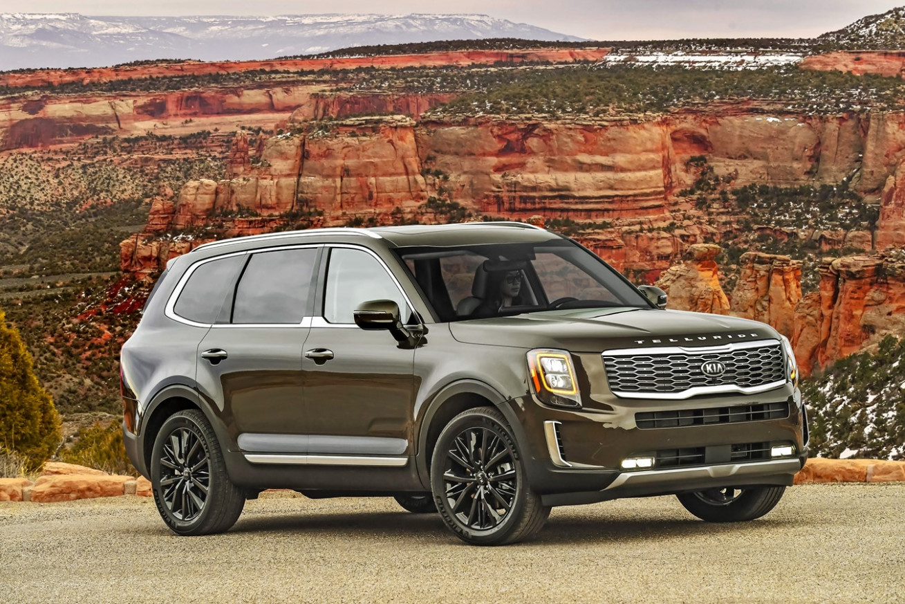 12 Kia Telluride Named on Car and Driver 12Best Trucks and SUVs list