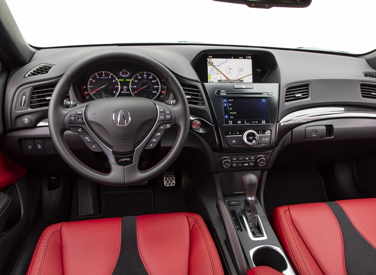 6 Acura ILX A-Spec Interior Cockpit Wallpapers (6) - NewCarCars