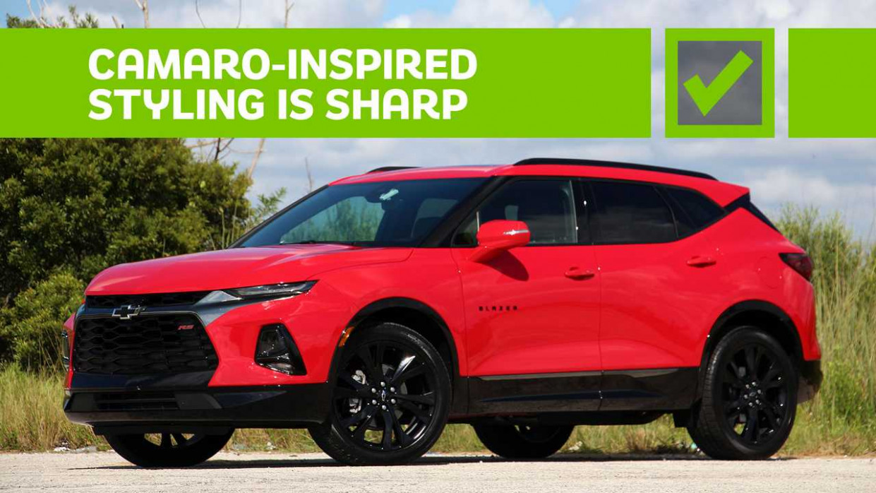 6 Chevrolet Blazer RS: Pros And Cons