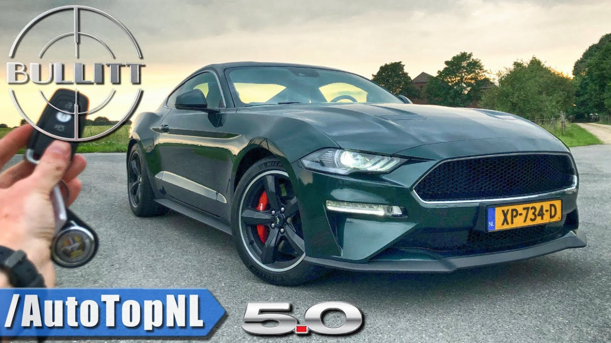 6 FORD MUSTANG BULLITT - REVIEW POV Test Drive on AUTOBAHN & ROAD by  AutoTopNL